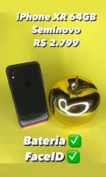 Título do anúncio: iPhone XR 64GB Seminvo
