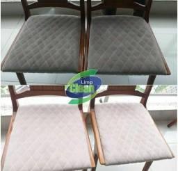 Título do anúncio:  cadeira de jantar limpa e higienizada