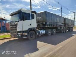 Scania g-420 6x4 + 3x3 curto