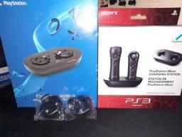Título do anúncio: Carregador para Controle de PS4 e para Move de PS3 (Charging Station)