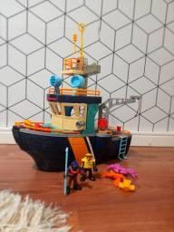 Navio Comando do Mar Imaginext Fisher Price