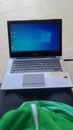 Notebook Asus pu401la core i7 4a geração 8gb ddr3 SSD 128gb HD 500gb