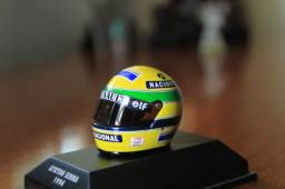 Mini capacete Ayrton Senna - Williams 1994
