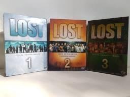 Box original 1a,  2a e 3a temporada Lost