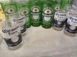 Copos corona ou Heineken