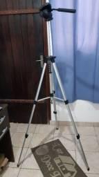 Tripé para Câmera profissional. Super leve. 1,60m