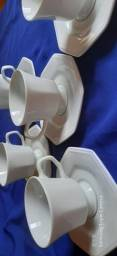 Conj. Café/chá porcelana Schmidt.
