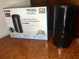 Roteador D-Link DIR-868L Wireless AC 1750Mbps Gigabit Dual-Band USB 3.0 com Mydlink, usado comprar usado  Rio de Janeiro