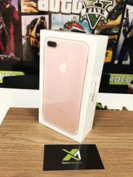 Apple 7 Plus /// Rose 32gb - novo!