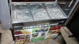 Carrinho de Salada de Fruta $600