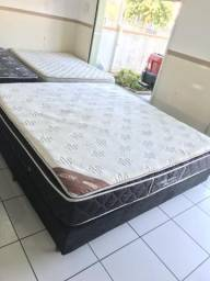 Cama King 2,03 x 1,93m box - entregamos