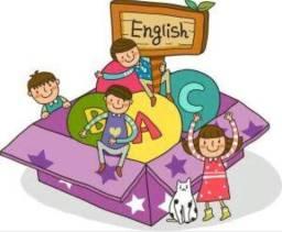 Aula de inglês particular Infantil
