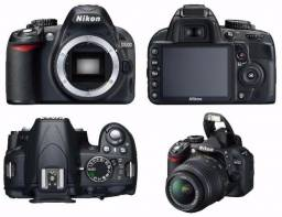 Camera Nikon D3100 completa e funcionando perfeitamente pouco uso