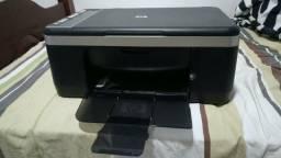 Impressora hp seminova sem os cartuchos de tinta