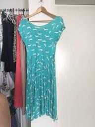 Vestido azul Hering