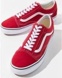 Tênis Vans Vermelho - 34 ao 43