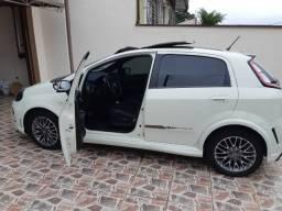 Fiat Punto Blackmotion - Automático c/ teto solar - 37mk - Branco - 2014