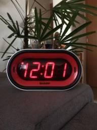Relógio Sharp 110V Super Alarme