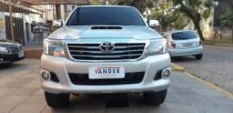 Toyota/Hilux CD 3.0 SRV 4x4 Turbo - Automática - Diesel - 2013