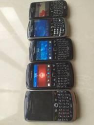 Aparelhos Blackberry de 40 a 50 a unidade