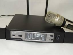 Microfone Sennheiser SKM9100 dourado importado Top de linha China