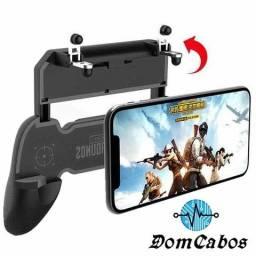 Gamepad Com Gatilhos Para Celular + Pubg R1 R2 Pubg, Fortnite Freefire, call of Duty