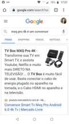 Conversor TV Box MXQ Pro 4K