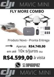 Dji Mavic Mini Fly More Combo -FCC -Novo-Lacrado-Pronta Entrega