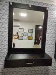 Espelho com bancada