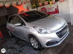 Peugeot 208 Active 1.2 Top 2018 Lindo Carro Financio Ate Sem Entrada