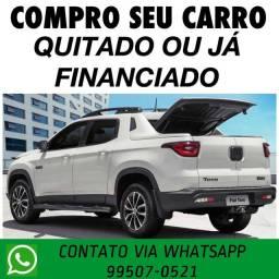 COMPRAMOS SEU CARRO QUITADO JÁ FINANCIADO