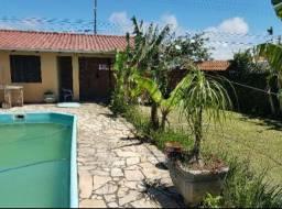 Casa com piscina diaria R$700,00