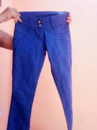 Calça azul Royal