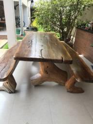 Mesa madeira rústica