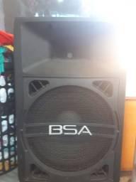 Vendo caixa de som bsa profissional