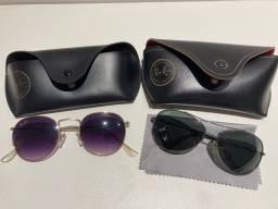 Dois óculos RayBan