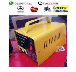 Carregador De Bateria carro moto barco baterias de ate 300 amperes 12v - entregamos