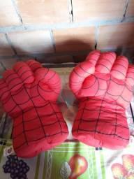 Luvas do homem aranha