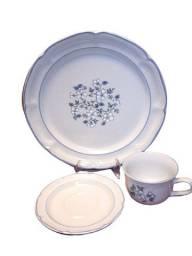 Conjunto de Porcelana Inglesa Antiga Importada | 3 Peças