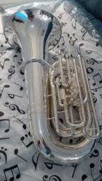 Tuba 5/4 Weingrill Nirschl WNTU1 Sib Prata -Nova - Aceito trocas-Parcelo