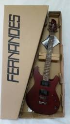 Guitarra Fernandes Dragon Fly Red Vermelho Fosco - Garantia
