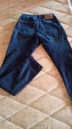 Calça jeans Tripé