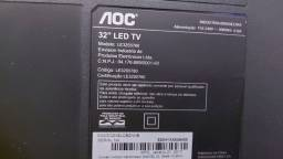"Smart AOC 32""semi-nova | tem que trocar o display R$ 150.00 Pra Retira hj"