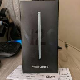 Samsung Galaxy Note 20 ULTRA Branco - Lacrado NF Garantia