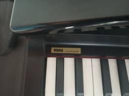 Micro Piano Korg Profissional Preto Laqueado