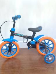 Bike Caloi infantil Hot wheels Aro 12