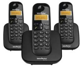 Kit 3 telefones sem fio siemens