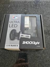 Kit Ultraled Xênon Shock HB4 6000k Full, usado comprar usado  Maringa