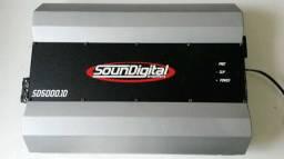 Amplificador potência Soundigital 5000