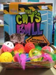 Bolinhas para gatos em promoção